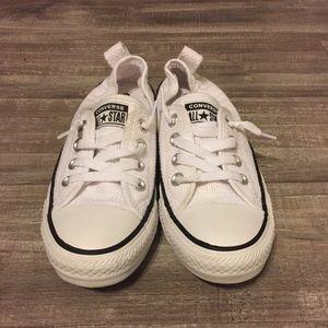 Converse Shorline Size 6 Black And White